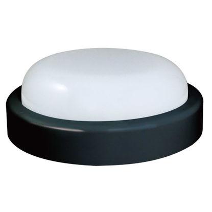 Εικόνα της Φωτιστικό B74320 Sunfos LED Στρογγυλό 15W 1200Lm 6500K Εξωτερικών χώρων IP54 Μαύρο