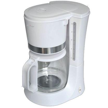 Εικόνα της Καφετιέρα φίλτρου CM6636E Primo ECO 1.2L 10φλ Λευκή-Inox