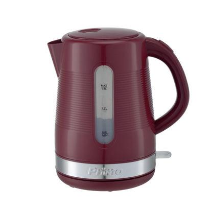 Εικόνα της Βραστήρας PRCK-40305 Primo 1.7L 2200W Κόκκινος-Inox