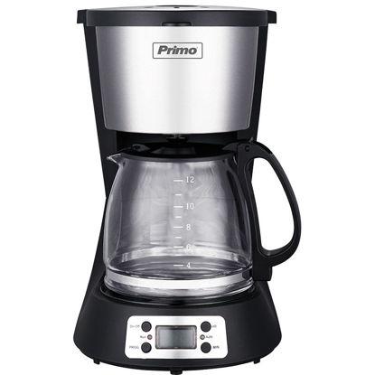 Εικόνα της Καφετιέρα φίλτρου PRCM-40250 Primo Digital Eco 1.5L 12φλ Μαύρη-Inox
