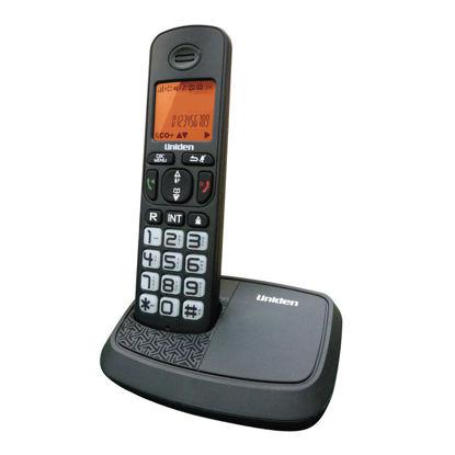 Τηλέφωνο Ασύρματο UNIDEN AT-4103 Με Μεγάλα Πλήκτρα Μαύρο